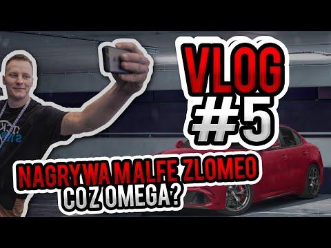 Nagrywam Alfę Złomeo, co z Omegą - vlog #17