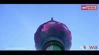 Lotus Tower - (Lotus tower stands out Colombo sky line in March)