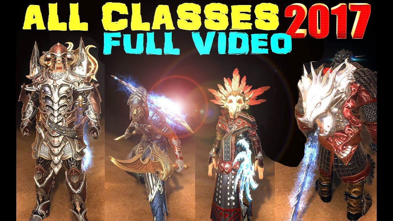 Neverwinter ALL CLASSES Full Video