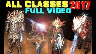 Neverwinter ALL CLASSES Full Video