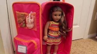 Packing American Girl Lea Clark for a Trip to Hawaii