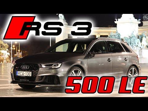 Az éjszaka királya - Audi RS3 500 lóerővel (4K) thumbnail