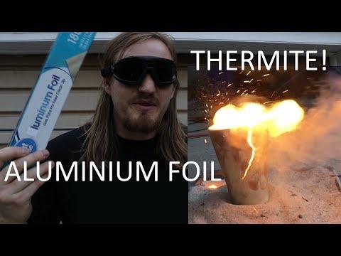 Aluminium Foil Thermite?!?!