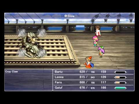 Final Fantasy V Steam - Cray Claw