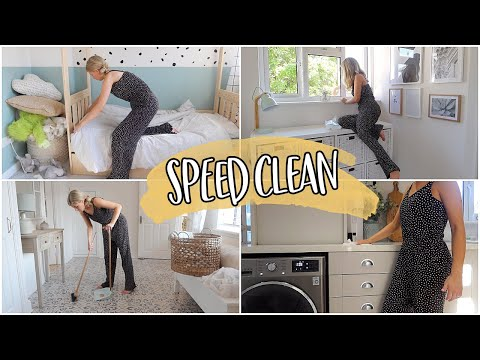 SPEED CLEAN MY HOUSE WITH ME | AUTUMN FRESH START | KATE MURNANE