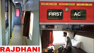 MY FIRST CLASS JOURNEY IN RAJDHANI EXPRESS