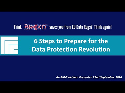 [Webinar Replay] Think Brexit Saves You from EU Data Regulations? Think Again!