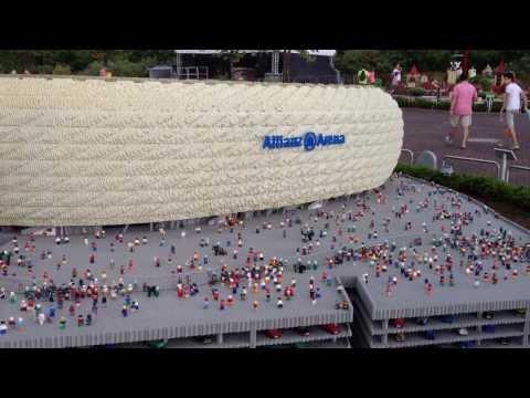 Estadio Allianz Arena Bayern de piezas de Lego