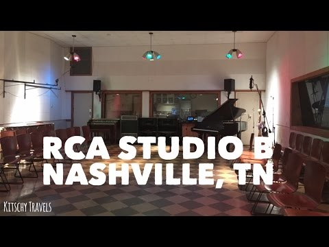 The Historic RCA Studio B in Nashville, TN
