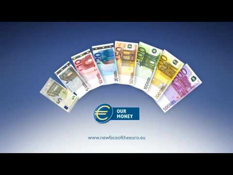 The new 5 euro banknote - Feel, look, tilt a TV?