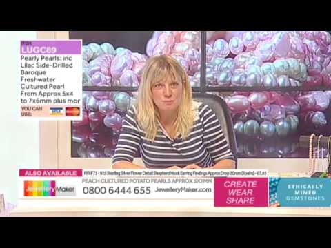 How to Make Genuine Gemstone Jewellery - JewelleryMaker AM LIVE 25/02/15