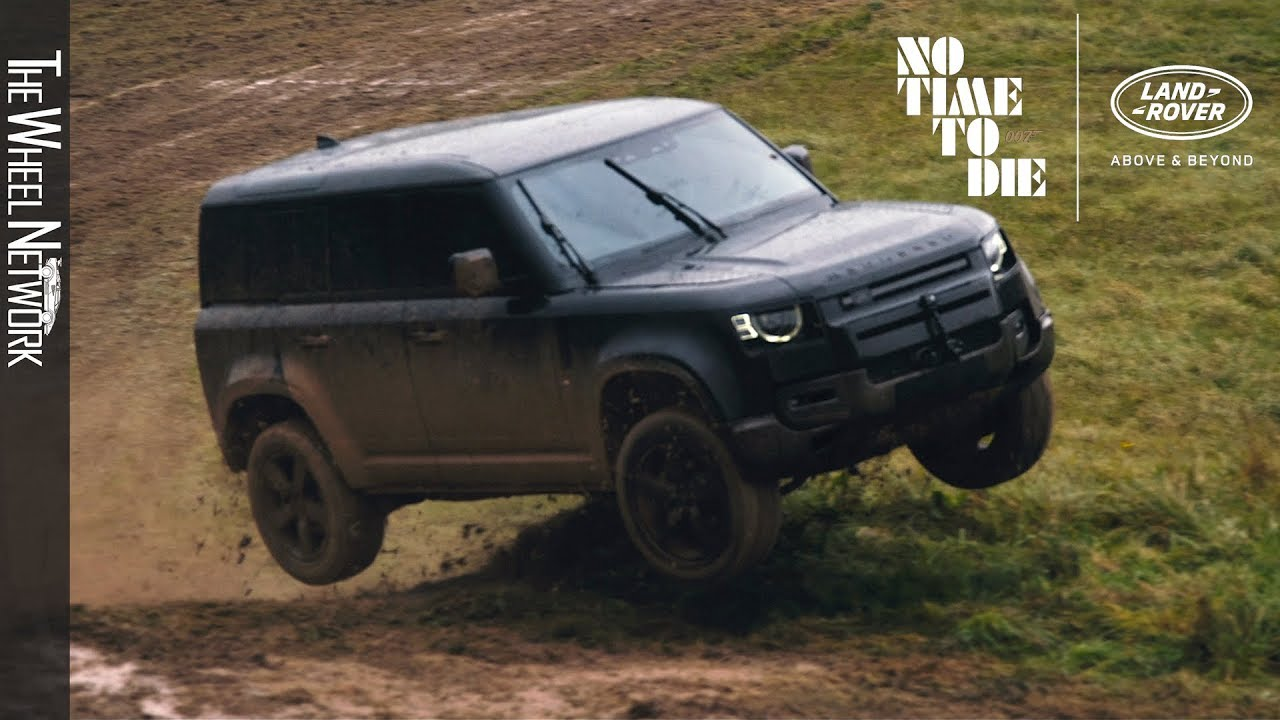 2020 Land Rover Defender To Star In New James Bond Film No Time To Die