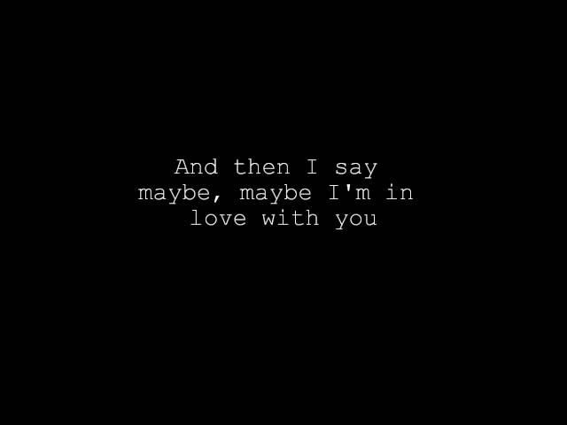 Maybe - Brainstorm