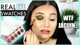 Video The TRUTH About Jaclyn Hill x Morphe VAULT | Swatching EACH Shadow on EYES! download MP3, 3GP, MP4, WEBM, AVI, FLV Oktober 2018