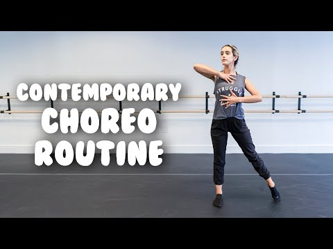 Total Beginner Contemporary Dance Routine