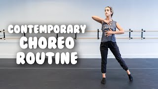 Total Beginner Contemporary Daฑce Routine