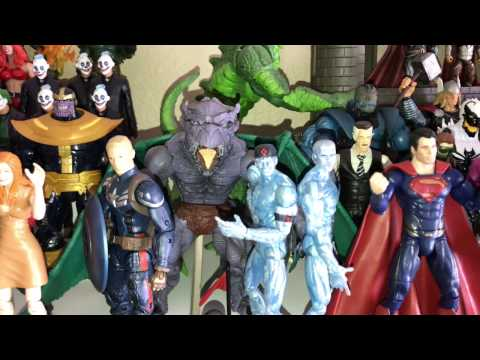 My Action Figure Collection - Toys, Toys and More Toys !!! 2017