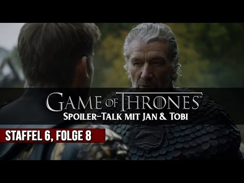 Game of Thrones - Tyrions Quatsch Comedy Club - Spoiler-Talk #S06E08