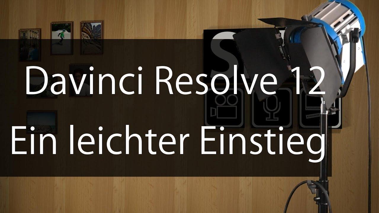 davinci resolve 12 deutsch