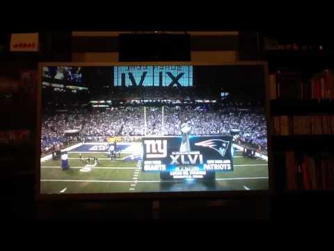 Super Bowl XLVI Opening