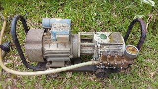 Electric Pressure Washer Restoration | Pressure Washer Repair and repaint
