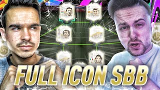 FIFA 21 : FULL ICON SQUAD BUILDER BATTLE vs GAMERBROTHER !! 😱🔥