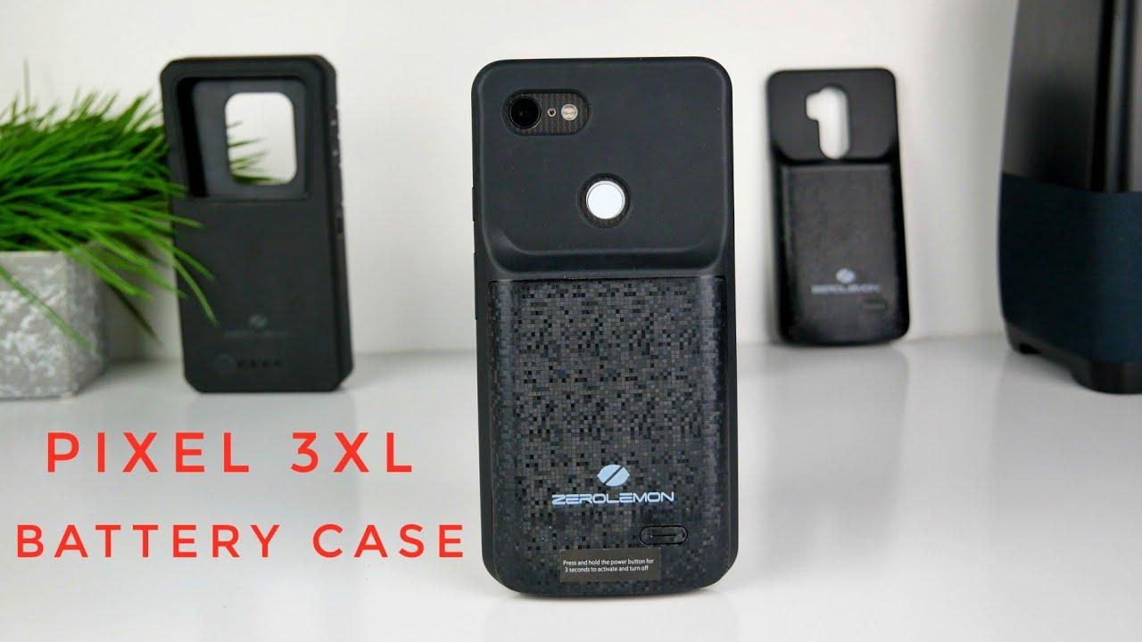 on sale 4077b e39f9 Pixel 3XL | ZeroLemon Extended Battery Case Review
