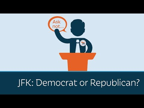 JFK: Democrat or Republican?