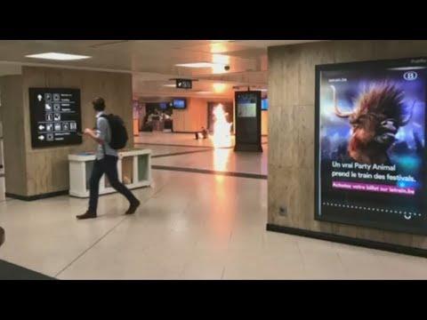 Bahnhof Brussel-Centraal: Ermittler stufen Explosion als Terrorakt ein