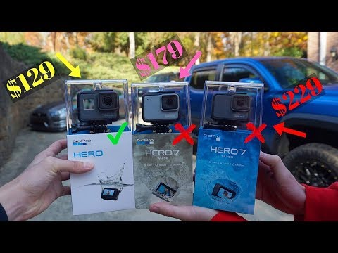 DON'T BUY The New GoPro HERO 7 White and Silver *Not Worth It*