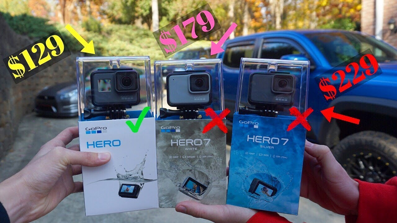 DON'T BUY The New GoPro HERO 7 White and Silver *Not Worth