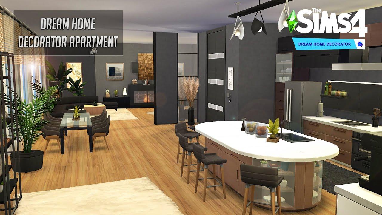 Dream Home Decorator Apartment   No CC   Stop Motion   Sims 4 Video