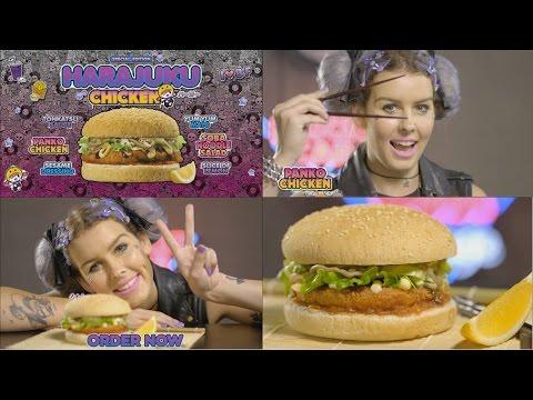 BurgerFuel's Harajuku Chicken Burger