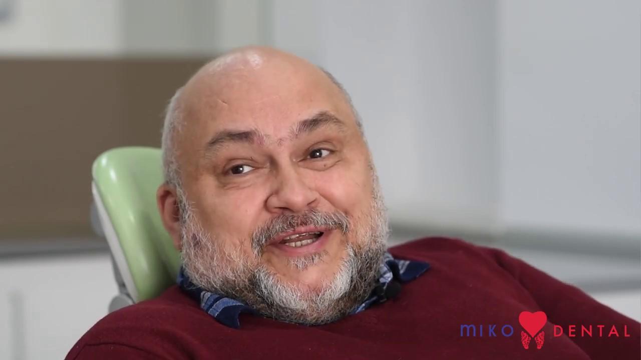 Implant dentar Bucuresti - Testimonial pacient - Pareri Miko Dental by Dr. Serban Atanasiu