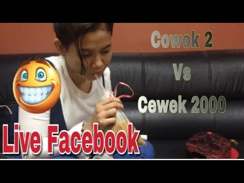 NgerJain Cowok Hidung Belang Yang Live Di Facebook wxwwx
