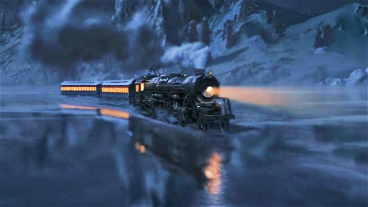 The Polar Express Derailment On The Ice Eu Portuguese Youtube