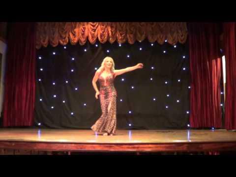 Rosie bellydancing at Casino el Layl Sep 14 Liverpool
