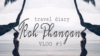 VLOG #5: Thailand ⎪Koh Phangan - Halfmoon Festival, Wasserfälle & Food Market