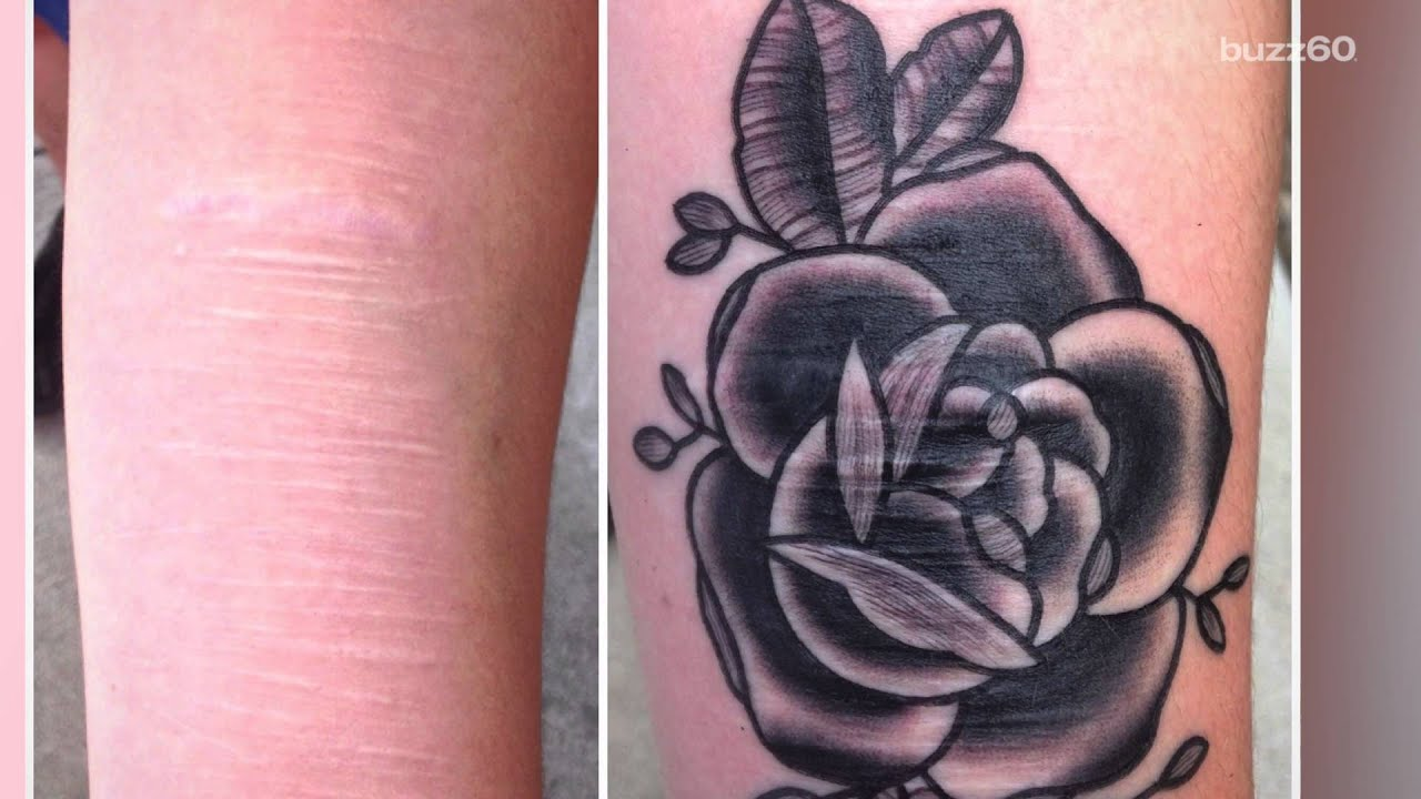 Tattoo artist offers free services to cover self-harm and domestic ...