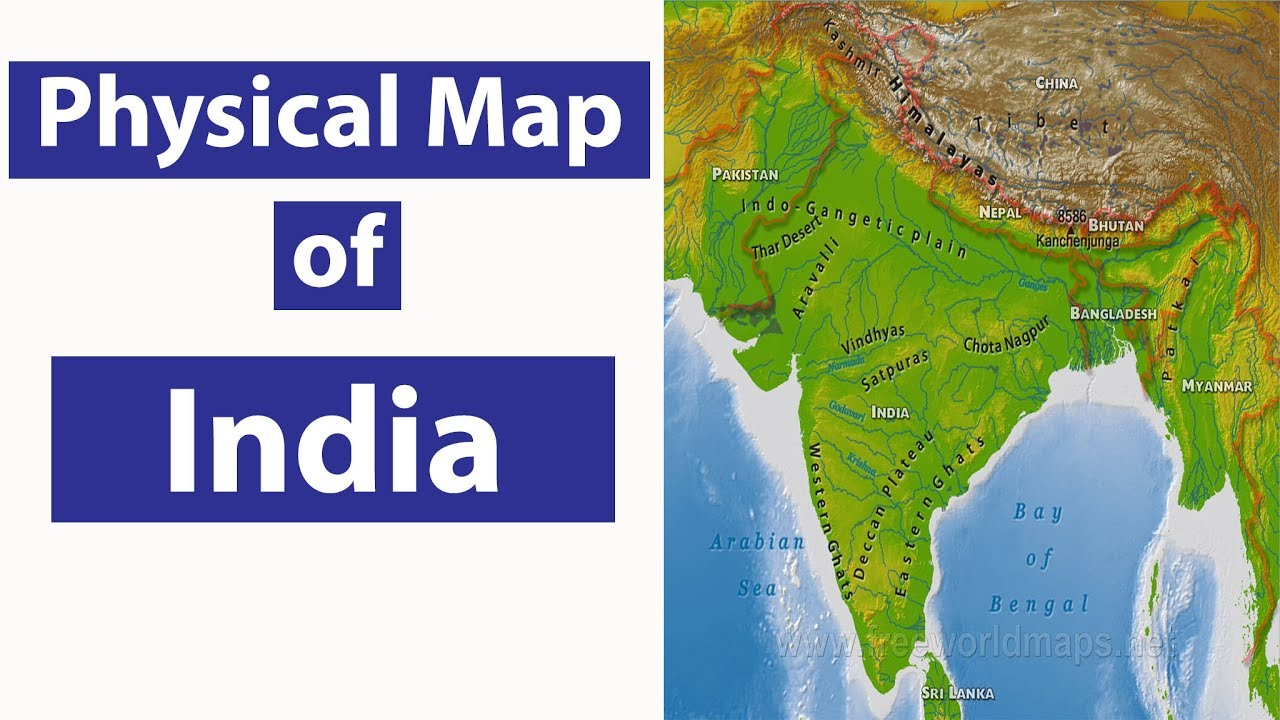Geography Lecture11 Physical Map of India SSC CGL