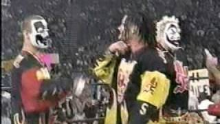 ICP vs Kidman and Rey Mysterio Jr. WCW