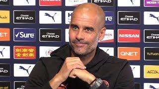 Pep Guardiola Pre-Match Press Conference - Crystal Palace v Man City - Embargo Extras