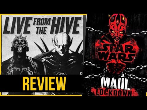 Maul Locked Up In GLADIATOR PRISON | Maul: Lockdown | Star Wars Book Reviews