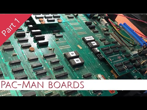Let's Look At Pac-Man Boards - Part 1 // Arcade Tech & Repairs