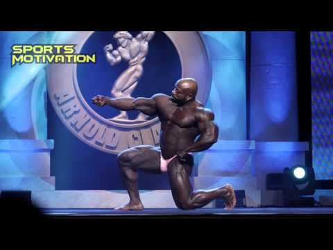 2016 ARNOLD CLASSIC 212 CHARLES DIXON FREE POSING