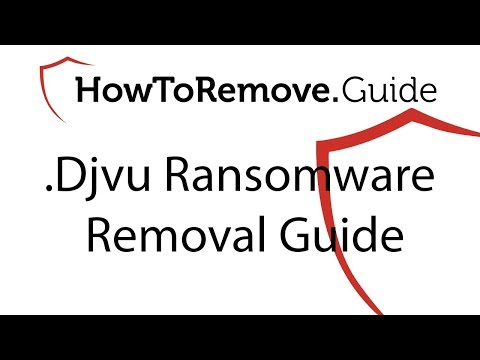 Remove  Djvu Ransomware (+File Recovery) Sept  2019 Update