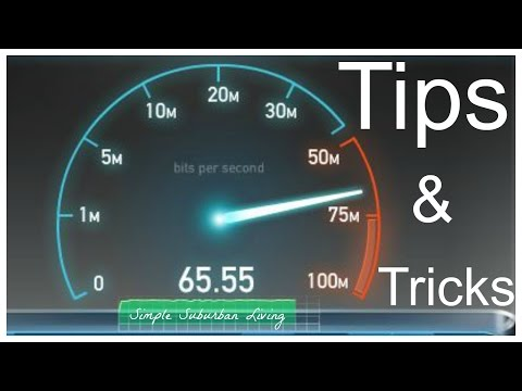 Internet Tips and Tricks - Faster, cheaper, more stable internet connection in your home