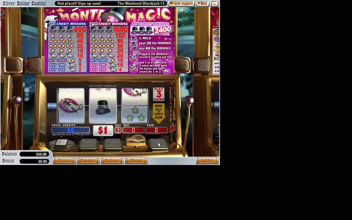 magical odds video slot machine
