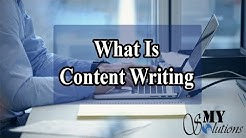 What is the Content Writing Tips and Introduction in Urdu/Hindi Tutorial