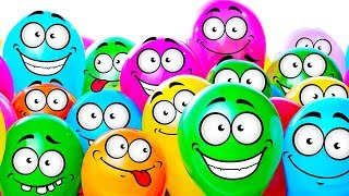Learn Colors With Orbeez and Balloons | Puppy Dog For Kids | Children Fun Video & Nursery Rhymes thumbnail